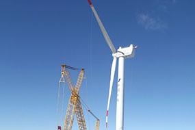 太原重工5MW察右中旗试验风机项目