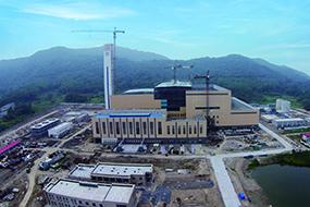 南京市江北静脉产业园垃圾焚烧发电厂项目