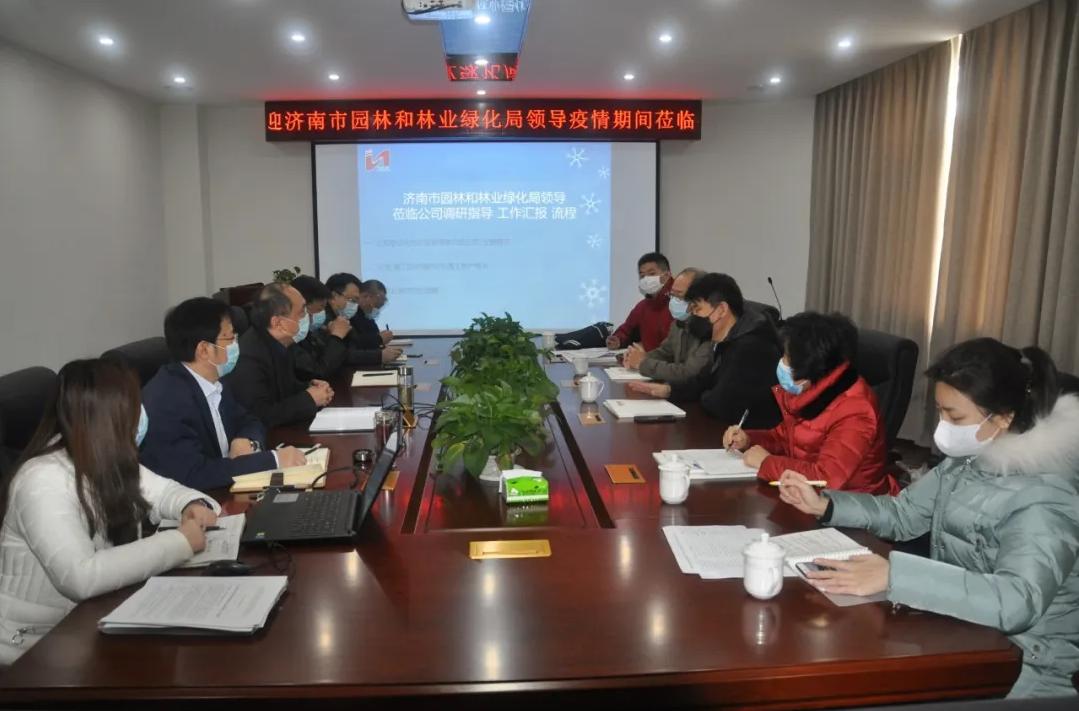 济南市直机关干部下沉企业提供精准帮扶服务